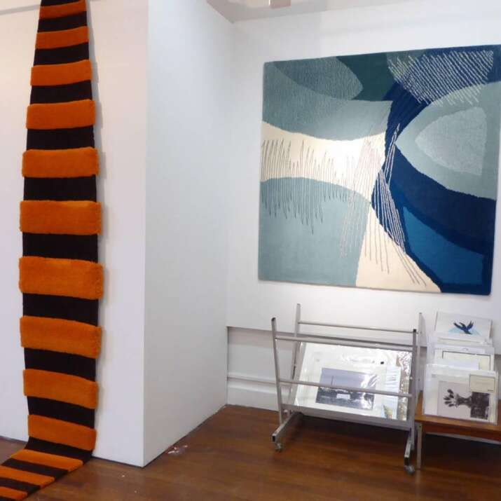 Commercial Reception Area Rugs: TUFTED UP NORTH: Exhibition Of Rugs & Wall Hangings By