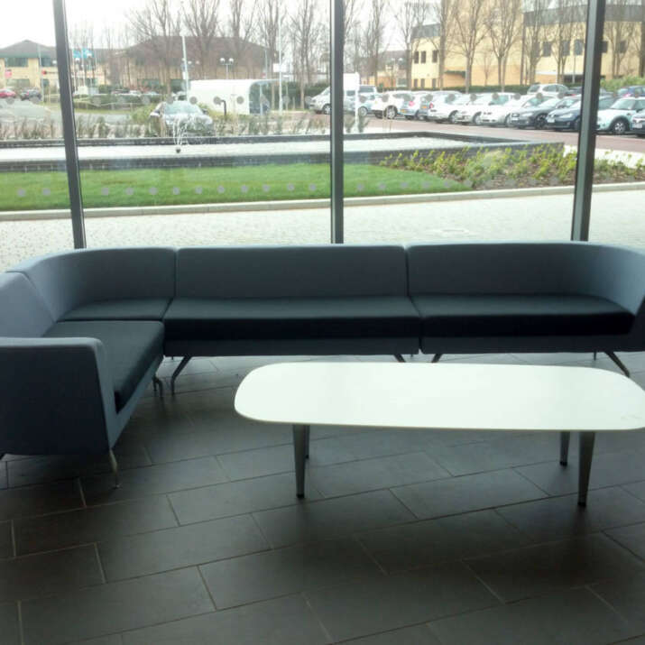 Commercial Reception Seating Area