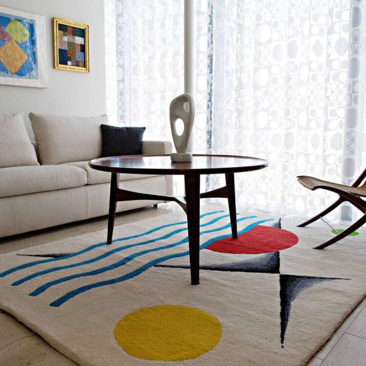 Malcolm Temple Artist Hand Tufted Rug