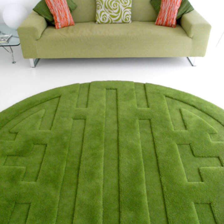 Pure Wool Sculpted & Carved Maze Rugs